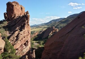 Front Range Hogbacks From Red Rocks