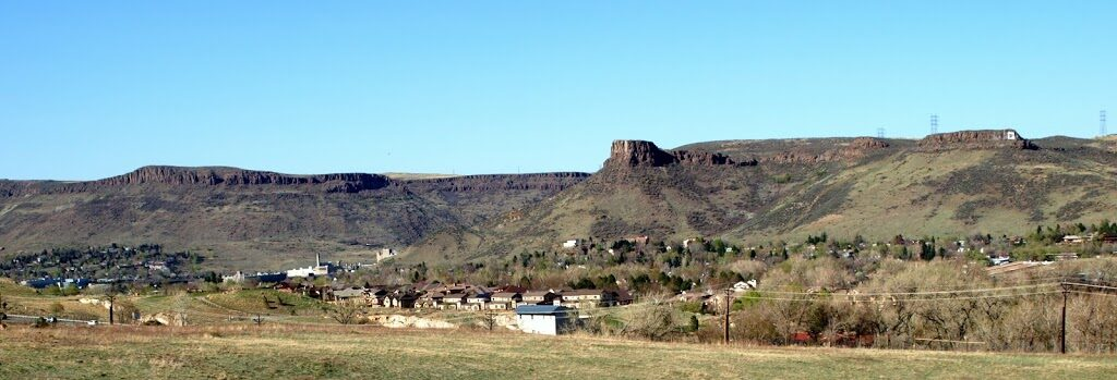 Golden Colorado - North and South Table Mountains