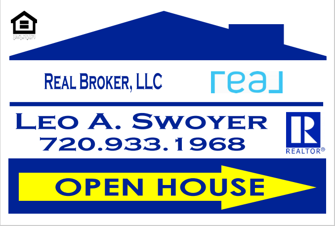 Leo Swoyer - Open House Sign