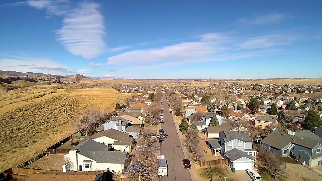 Drone Photo of Roxborugh Village, Littleton