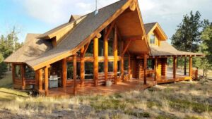 Bailey Log Home