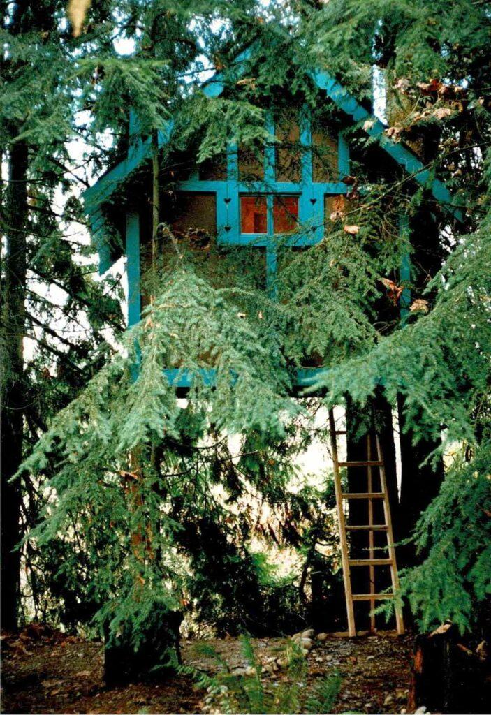 Ken-Leo's Tree House - Rear View
