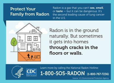 EPA - House Radon Sources